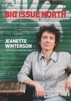 Jeanette Winterson on the cover of Big Issue North 1102 - available 12 - 18 Oct #magazine #writers