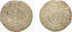 1627 Brandenburg - Preussen BRANDENBURG-PRUSSIA Schilling 1627 GEORG WILHELM silver aVF # 92264 f.ss Prussia, Coin Collecting, Coins, German, Personalized Items, Brandenburg, Silver, Deutsch, German Language