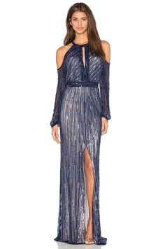 Parker Black Casa Embellished Dress in Blue - wish it came in another color!