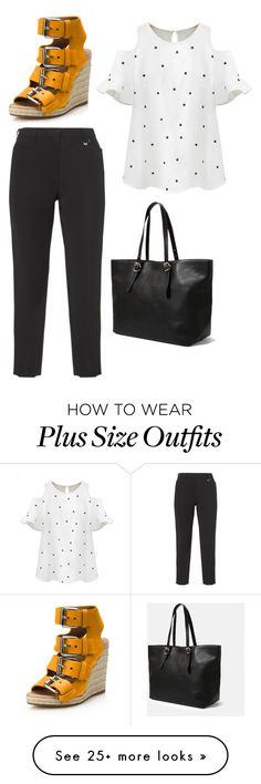 """Untitled #281"" by dvrchnskaya on Polyvore featuring Chicnova Fashion, KJ Brand and Violeta by Mango"