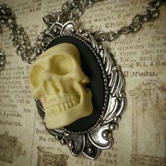 Large 3d Skull Cameo - www.facebook.com/ontheedgeokc