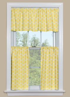 Kitchen Valance And Tier Curtains