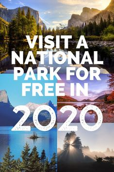 How to Visit a National Park for Free in 2020 - Park Chasers Badlands National Park, Joshua Tree National Park, Grand Canyon National Park, Rocky Mountain National Park, Yosemite National Park, Colorado National Parks, California National Parks, Us National Parks, National Park Passport