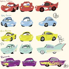 Pixar Cars stylized by texacity on DeviantArt Cars Movie Characters, Disney Cars Movie, Disney Cars Party, Car Party, Movies, Luxury Sports Cars, Bmw Z5, Disney Drawings, Cute Drawings