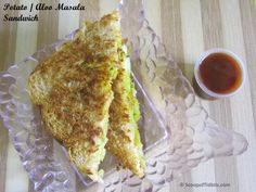 Aloo Masala Sandwich or Potato Masala Sandwich is an easy and delicious snack or breakfast item that can be made without much effort. It can be served as a
