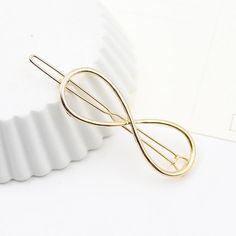 New Casual Korean Hairpin Gold Plated Stars Barrette Fine Fascinator Hair Clip For Women Girls Hair Accessories XZ-AJB050