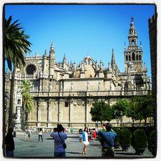 Plaza del Triunfo, #Sevilla.