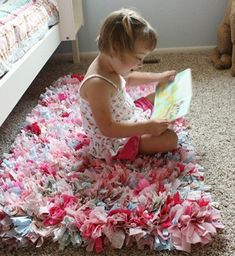 Room decor for girls bed canopy awesome do it yourself diy girl Girls Bedroom, Old Baby Clothes, Diy Clothes, Rag Rug Tutorial, Dollar Store Halloween, Homemade Art, Diy Baby Gifts, Diy Projects For Kids, Diy For Girls