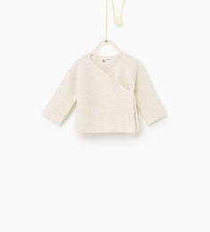 Zara Baby Girl - Crossover cardigan