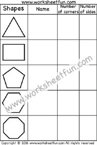 How many sides? - Polygons - Triangle, Rectangle, Pentagon ...