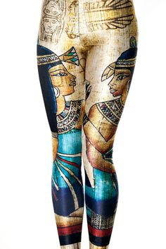 Black Milk Clothing Egypt Leggings L PC