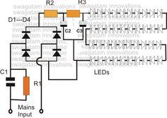 led lamp circuit circuitdiagram org pinterest led rh pinterest com led bulbs circuit diagram led lamp schematic diagram