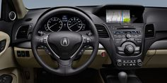 2013 Acura RDX with Technology Package and Parchment interior | Acura.com