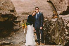 North Carolina Mountain Wedding - love the jacket