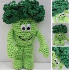 Gratis Haakpatroon Vitamini Bram Broccoli van Mrs Hooked (Lidl Vitamine-knuffelvriendje)