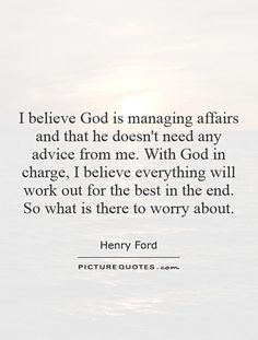 Henry Ford Quotes On God. QuotesGram