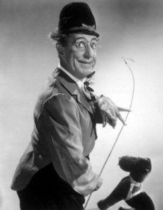 Ed Wynn as lion tamer http://famousclowns.org/famous-clowns/biography-of-ed-wynn/