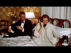 Cary Grant and Ingrid Bergman in Indiscreet Directed by Stanley Donen Helen Rose, Katharine Hepburn, Lauren Bacall, Ava Gardner, Rita Hayworth, Classic Hollywood, Old Hollywood, Gary Grant, Roberto Rossellini