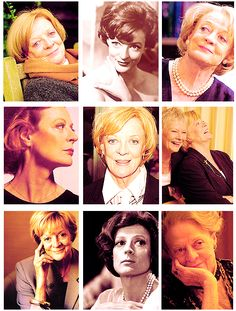 Maggie Smith. Because she seems so real, like I wish every Harry Potter character was.