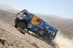 Dakar 2011 Rally. VAG Content