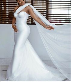 African Wedding Dress, Cheap Wedding Dress, Wedding Dress Styles, Dream Wedding Dresses, African Bridesmaid Dresses, Bridesmaid Gowns, Prom Dresses, Engagement Gowns, Minimalist Gown