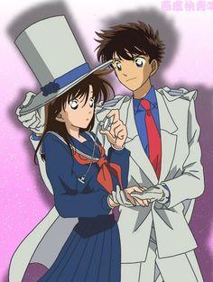Magic Kaito Aoko and Kaito Kid