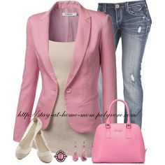 """9XIS Pink Blazer"""