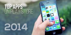 Trending mobile apps on iOS and Google PlayStore in 2014