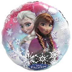 Disney Frozen Movie Birthday Party Supplies Canada: Includes one 20 inch pull string foil mylar pinata.