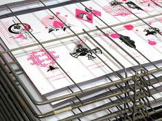 Atelier W110 | CARTE SERIGRAPHIE