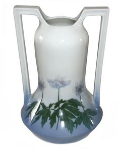 Porsgrund Art Nouveau Two Handled Vase