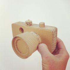 Cardboard photo camera