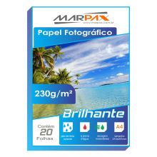 Papel Foto Glossy Paper 230g/m² A4