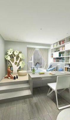 Small Room Design, Modern Bedroom Design, Home Room Design, Bedroom Colors, Room Decor Bedroom, House Rooms, Living Room, Interior Design, Bed Furniture