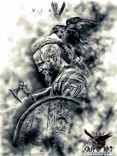 Afbeeldingsresultaat voor vikings tattoo