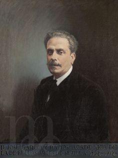 Retrato de José García Ramos, por Alfonso Grosso. 1924