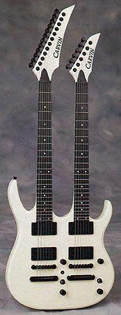 91 Carvin Double Neck Guitar