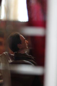 Вид в окно. Румбокс по мотивам гостиной в лондонском музее Шерлока Холмса.