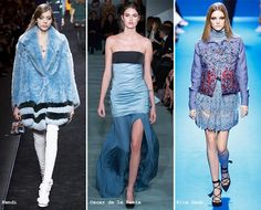 Fall/ Winter 2016-2017 Color Trends: Airy Blue