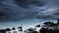 Cool Tropical Storm Clouds by seanmichaeljones