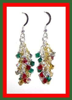 Check out this item in my Etsy shop https://www.etsy.com/listing/33652968/swarovski-crystal-christmas-waterfall