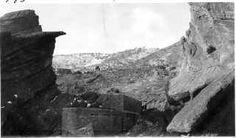 Civilian Conservation Corps in Colorado - Jefferson County, Morrison, Red Rocks Amphitheater Under Construction