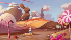 Background concepts (The White Rabbit) © Ariel Belinco