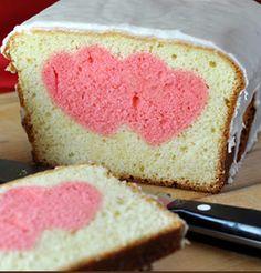 Valentine's Day Peek-A-Boo Pound Cake