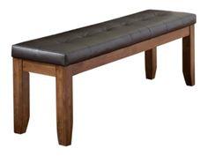 Homelegance Kirtland Leatherette Upholstered Bench, 60-Inch, Medium Cherry Finish Homelegance http://www.amazon.com/dp/B005MUW4G6/ref=cm_sw_r_pi_dp_D4uwub0R76W2Z
