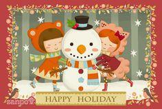 Happy Happy Holidays card!!