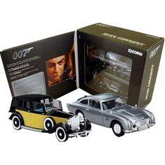 Corgi James Bond Sean Connery Era Diecast Cars Boxed Set. #ConneryDay Corgi Husky, Corgi Toys, British Invasion, Sean Connery, Tin Toys, James Bond, Vintage Toys, Hot Wheels, Diecast