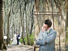 12 Touching First Look Photos That Show Grooms Crying - My Modern Metropolis