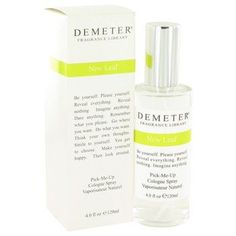 Demeter By Demeter New Leaf Cologne Spray 4 Oz
