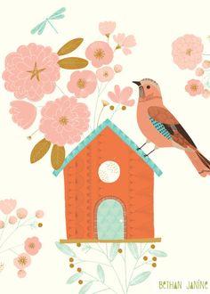Bethan Janine - BIRD HOUSE & JAY